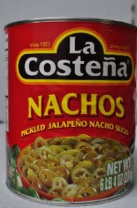 La Costena Sliced Jalapeno Peppers #10 Can