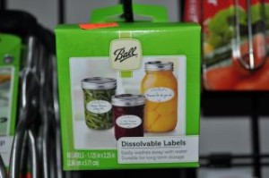 Dissolvable Canning Labels