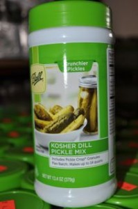 Kosher Dill Pickle Mix