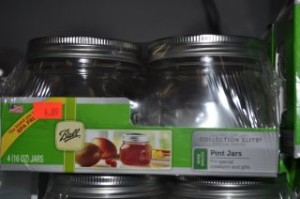 Wide Mouth Pint Jars Elite